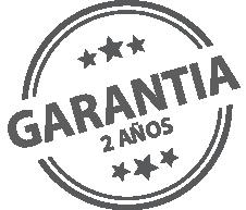 2 años de garantia
